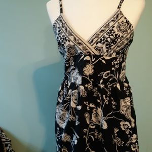 Black and white sundress